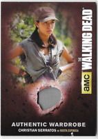 Walking Dead Season 4 Costume Relic Wardrobe Card Rosita Christian Serratos M47