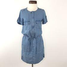 Comptoir des Cotonniers Blue Chambray Dress  |  Womens S