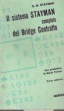 IL SISTEMA STAYMAN COMPLETO DEL BRIDGE CONTRATTO S.M. STAYMAN MURSIA (CA277)