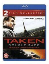 Taken / Taken 2 (Blu-ray, 2013, 2-Disc Set, Box Set)