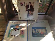 Lot of 3 Records: CAT STEVENS Mathew & Son/ Teaser & Firecat / Tea for Tillerman