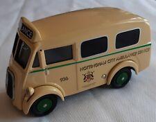 Corgi Morris J Ambulance 1:43 Nottingham City Ambulance Service VGC