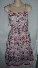 American Eagle Outfitters floral sheer lined boho summer tank dress Size 6 NEW