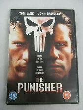The Punisher DVD Tom Jane John Travolta  2004