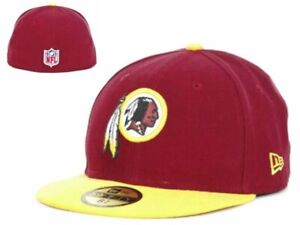 Washington Redskins New Era NFL Onfield 59Fifty 6 5/8 Fittted Youth Hat Cap GD