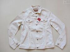 Levi's® Damen Jacke Jeansjacke, Gr. L, weiß, NEU ! White Denim Klassiker, RAR !