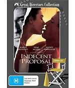 INDECENT PROPOSAL - NEW & SEALED DVD (ROBERT REDFORD, DEMI MOORE, W HARRELSON)
