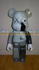 Kaws Original Fake Companion Medicom Be@rbrick 1000% Dissected Grey Edition