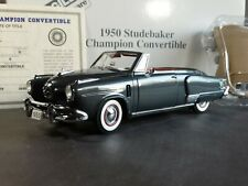 Danbury Mint 1950 Studebaker Champion Convertible 1:24 Scale Diecast Model Car