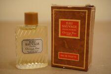 Eau Sauvage by Christian Dior Cologne Splash Mini 10 ml 0.34 oz for Men Vintage