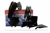 KTM Plastic Kit SX 2005 - 2006 / EXC 2005 - 2007 / XC 06 - 07 All Black 90195