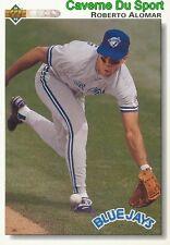 355 ROBERTO ALOMAR TORONTO BLUE JAYS  BASEBALL CARD UPPER DECK 1992