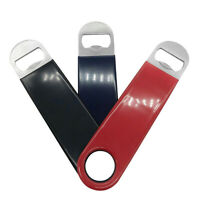 3x Durable Stainless Steel Flat Bottle Opener Heavy Duty Beer Drink Openers