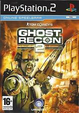 TOM CLANCY'S GHOST RECON 2 for Playstation 2 PS2 - with box & manual - PAL
