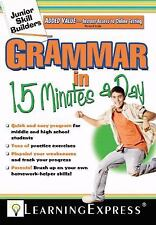 Grammar in 15 Minutes a Day [With Free Online Practice Exercises Access Code] (M