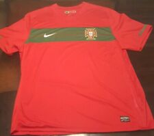 Nike Portugal National Team Red Soccer Jersey Size Xl Mens. World Cup.