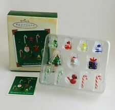 Hallmark 2003 Merrier By The Dozen Set Of 12 Miniature Ornaments