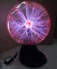 "16"" Plasma Ball Globe Sphere Lightning Light Lamp Holiday Party Bar Sound Sensor"