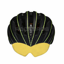 RockBros Luminated Unisex Helmet Road Bike MTB 57cm-62cm Black Green