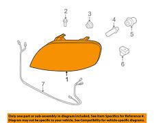 Chevrolet GM OEM 07-11 Aveo-Headlight Head Light Headlamp 96650526