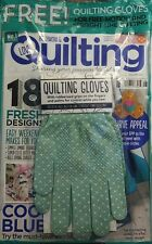 Love Patchwork & Quilting UK Issue 48 Quilting Gloves Designs FREE SHIPPING sb