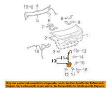 Lexus TOYOTA OEM 07-12 ES350 Trunk-Lock or Actuator Latch Release 6460033140