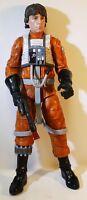 "Hasbro Star Wars Luke Skywalker X-Wing Pilot Black Series Action Figure 13"""