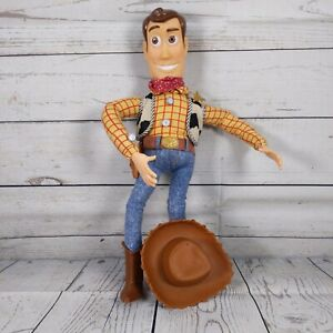 TOY STORY WOODY FIRST ISSUE 1995 PULL STRING ORIGINAL CLASSIC TOY WITH HAT