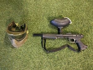Used Tipmmann Pro Lite Paintball Marker and JT Proflex Mask