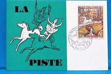 FRANCE CPA   Carte Postale Maximum LA PISTE DE SEURAT   Yt 1588A C