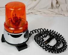 ancien gyrophare marchal  magnetique 12v oldtimer Rotating Beacon vintage 1970
