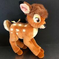VTG Gund Bambi Plush Stuffed Toy Walt Disney Character Butterfly Nursery Decor