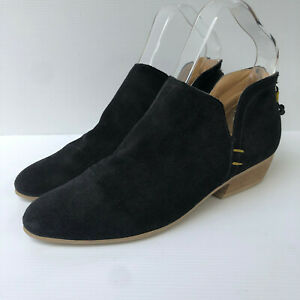 John Lewis Weekend Collection low cut suede ankle boots shoes 37 4 VGC casual