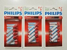 36 x PHILIPS ALKALINE AAA BATTERY | Operated Device Power Long Life Batteries