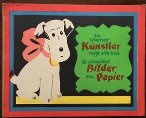 Pop-up. Spielbilderbuch. Löwensohn - Ein kleiner Künstler zeigt sich hier. 1930