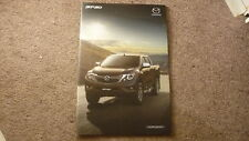 2017 AUSTRALIAN MAZDA BT-50 CAR SALES BROCHURE, 40 PAGES