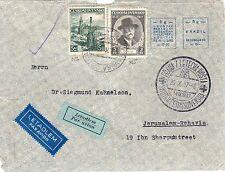 "Ceskoslovenska / Czechoslovakia-Palestine 1937 ""Freemasons"" PM"