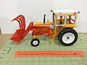 Custom 1/16 scale Minneapolis Moline G750 tractor & DU-AL loader, FREE shipping