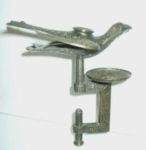 ANTIQUE VICTORIAN SEWING BIRD - CLAMP PIN CUSHION