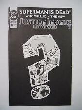 VINTAGE! DC Comics Justice League America #71 (1993)-Superman is Dead