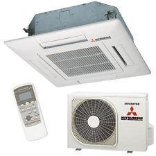 Split-Klimaanlage-Set Inverter Mitsubishi FDTC25VF Kassetten-Gerät 2,6/3,5kW