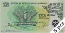 TWN - PAPUA NEW GUINEA 16b - 2 Kina 1997 UNC Polymer - Prefix ALN DEALERS x 5
