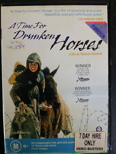 A Time For Drunken Horses ex-rental DVD (2000 Iranian war / drama movie) rare
