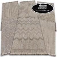 MODERNE NATÜRLICHE SISAL beige Teppiche NATURE 6 Muster BOHO Einfach zu säubern