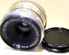 Lithagon 35mm f4.5  C  Enna Werk Munchen Lens  ARGUS C  mount