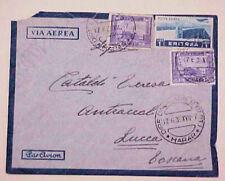 SOMALIA MIXED ERITREA 19369 HARAR B/S LUCCA MOURNING DEATH COVER SCARCE
