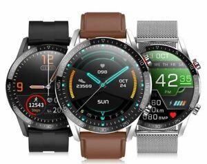 Sport Smart Watch Bluetooth Waterproof ECG Monitor Blood Heart Sleep Android IOS