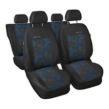 Seat Leon 5-Sitze Blau Universal Sitzbezüge Schonbezüge Schonbezug Autositz