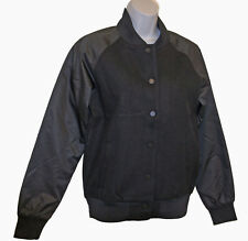 Nuevos Nike ropa deportiva NSW mujer Clásico lana Satén chaqueta de Universidad