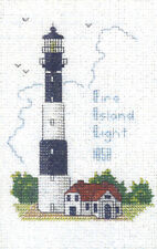 Hilite Counted Cross Stitch Kit ~ Historic Lighthouse Fire Island Light, NY #246